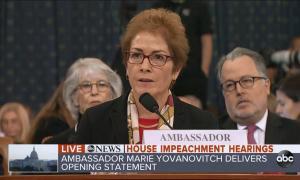 Yovanovitch opening statement