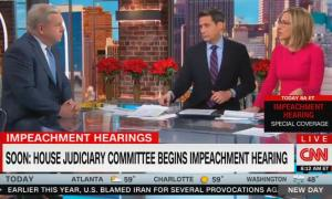 """CNN's Alisyn Camerota suggests a Republican """"circus"""" during impeachment hearings will be """"more compelling"""" than """"people arguing about ... high crimes and misdemeanors"""""""