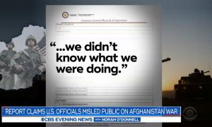 Afghanistan war -- CBS News coverage of report