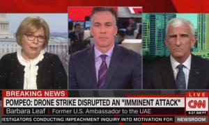 CNN drone strike Iran 1/3/20