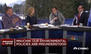 Steve Mnuchin CNBC