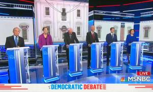 Democratic debate 2/19/20