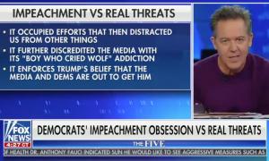 "Greg Gutfeld slams Democrats for focusing on impeachment instead of ""real threats"""