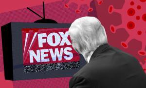 Trump watching Fox News amid pandemic