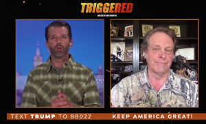 During an interview with the Trump campaign, Ted Nugent backs anti-quarantine protesters