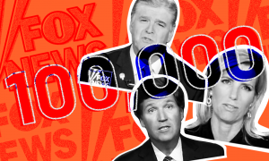 The Fox News primetime lineup ignores the COVID-19 death toll