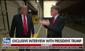 Hannity / Trump no masks