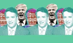 Sinclair's James Rosen and President Donald Trump