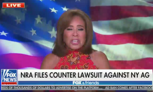 Fox's Pirro downplays NRA's allegations and implies lawsuit is politically motivated