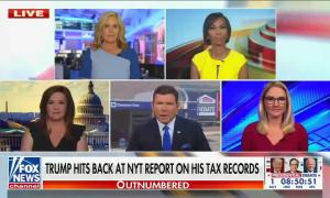 Outnumbered Trump taxes