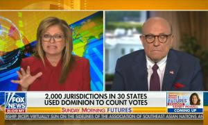 Sunday Morning Futures Maria Bartiromo Dominion voting machines conspiracy