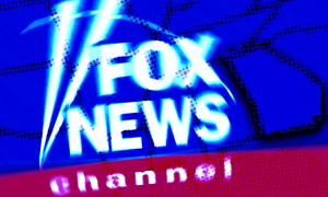 Fox News logo in front of map of Georgia