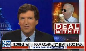 """Tucker Carlson: """"'Homeless' makes it sound like some sort of protected class, or protest. No, they're junkies"""""""