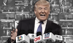 Donald Trump news networks