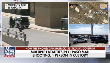 Dan Patrick cited antifa when calling into Fox News to discuss El Paso shooting