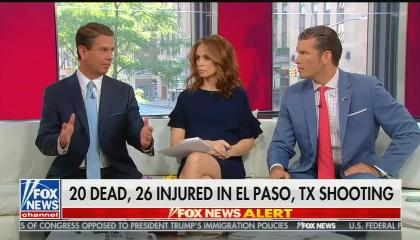 Fox & Friends on the El Paso mass shooting