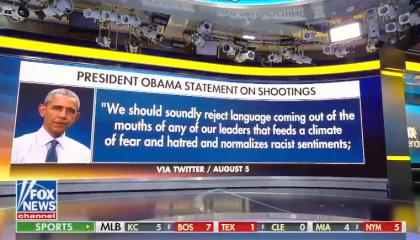 Obama statement on mass shootings on F&F