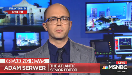 Adam Serwer discusses Tucker Carlson on MSNBC
