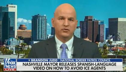 Brandon Judd discussing ICE raids in Mississippi