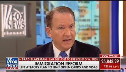Fox News guest Brad Blakeman