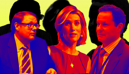 Todd Starnes, Laura Ingraham, and Brian Kilmeade