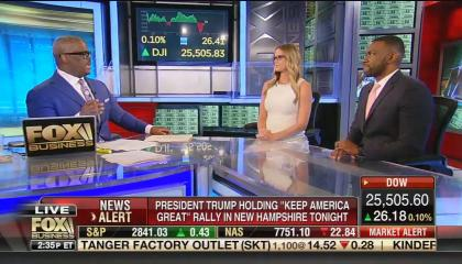 Fox Business host Charles Payne and Independent Women's Forum's Kelsey Bolar