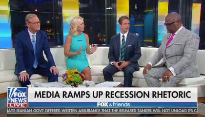 Fox & Friends on media and a recession