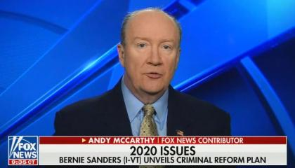 """Fox News contributor says that America's criminal justice system is """"the least racist system that we have in the country"""""""