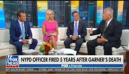 Fox & Friends on Eric Garner's death