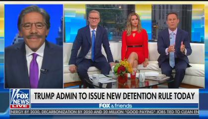 Fox News' Geraldo Rivera, Steve Doocy, Katie Pavlich, and Brian Kilmeade