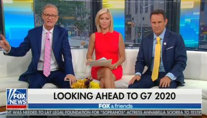 """Brian Kilmeade says Trump's Doral property is the """"perfect place"""" to host the G-7 summit next year"""