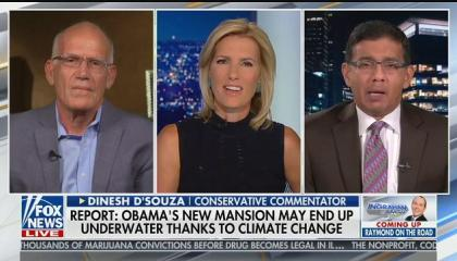 "Dinesh D'Souza: ""Nothing is happening that's that unusual in the Amazon"""
