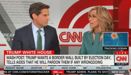 Alisyn Camerota debunks Fox's hypocrisy on Trump and the border wall