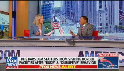 Fox News anchor Sandra Smith and Juan Williams - 08-29-2019