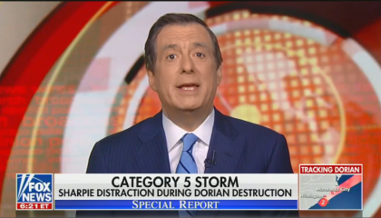 Fox News attacks the media for covering Trump's repeated lies about Alabama and Hurricane Dorian