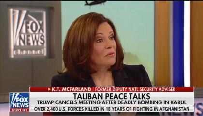 Former Trump deputy national security adviser K.T. McFarland