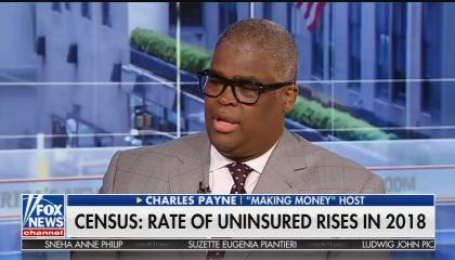 Fox Business host Charles Payne