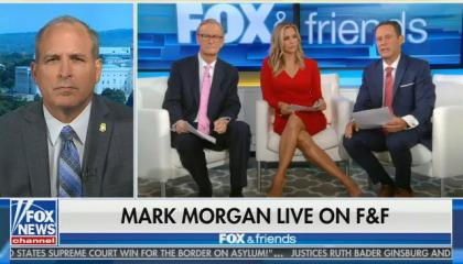 "Fox's Brian Kilmeade says Trump's asylum rules changes will ""send a message"" that ""this is not the time to risk your family ... to go across our border"""