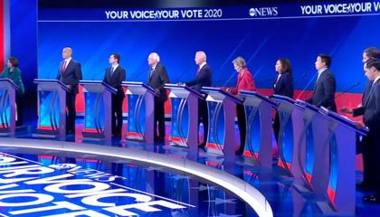 ABC dem debate