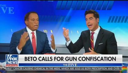 "Fox's Jesse Watters: A gun buyback will result in gun owners shooting police and ""cost more lives than mass shootings"""