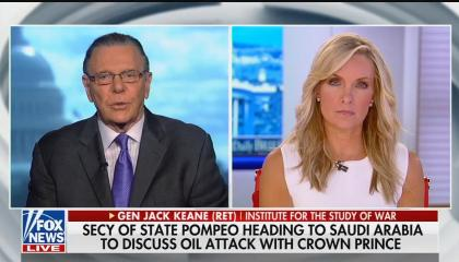 Fox News senior strategic analyst Jack Keane and Fox host Dana Perino