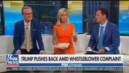 ​Fox & Friends co-hosts Steve Doocy, Ainsley Earhardt, and Brian Kilmeade​