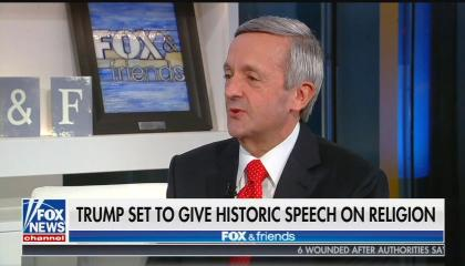 Fox News contributor Robert Jeffress