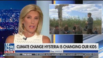 "Laura Ingraham compares Greta Thunberg and youth climate activists to Stephen King's ""Children of the Corn"""