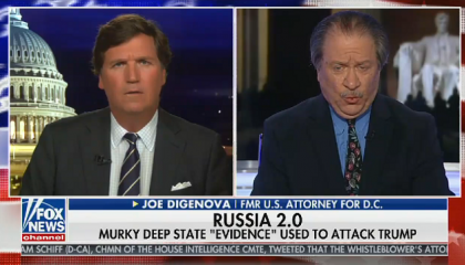 """Tucker Carlson guest: Even if Trump had offered Ukraine a quid pro quo, """"it would not be a crime"""""""
