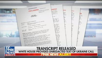 Trump releases call summary