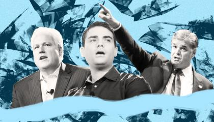 Image showing Matt Schlapp, Ben Shapiro, and Sean Hannity