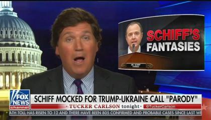 "Tucker Carlson: Rep. Adam Schiff is ""demonstrably mentally ill"""