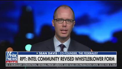 Sean Davis pushes his false Federalist report on Fox News