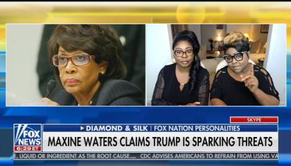 Fox Nation hosts Diamond & Silk